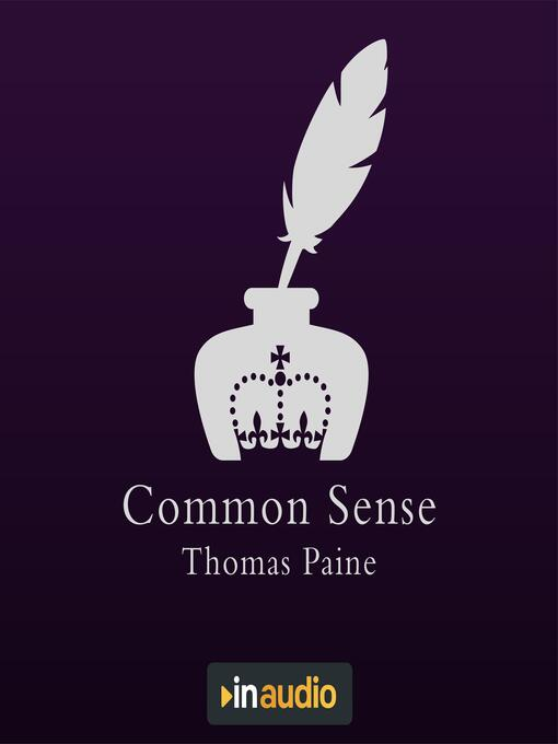 Title details for Common Sense by Thomas Paine - Available